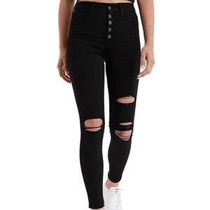 AE Next Level Button Fly Super Hi-Rise Jegging NWT